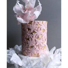 Gorgeous Cakes, Pretty Cakes, Wedding Cake Designs, Wedding Cakes, Modern Cakes, Yogurt Cake, Cake Trends, Fondant, Buttercream Cake