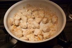 Mieks Special: ovenschotel kip pesto - Keuken♥Liefde Scampi, Shrimp, Spaghetti, Food And Drink, Keto, Lunch, Healthy Recipes, Snacks, Salads