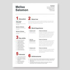 Creative and professional resume template in microsoft word cv with creative resume template in microsoft word cv with modern and minimalistic design this time with swiss typography clean simple and modern yelopaper Gallery