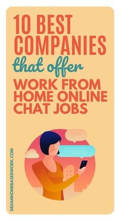 Do you love assisting people through online chat? If your answer is yes, consider working from home as a Chat Support Agent. These jobs allow you to assist customers through email or chat. Dream Home Based Work is here to help with a list of 10 legit companies to get you started! #workathome #customerservice #jobs #hiring Legitimate Online Jobs, Legitimate Work From Home, Home Based Work, Work From Home Tips, Online Jobs From Home, Online Work, Work Quotes, Change Quotes, Attitude Quotes
