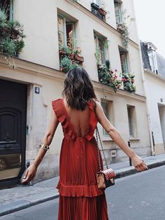 Self Portrait Dress in Paris | Song of Style