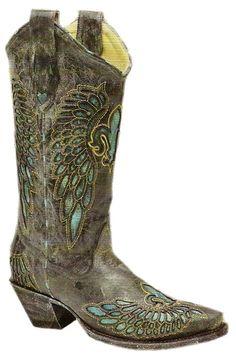 Cowgirl Clad Company - Corral Fleur De Lis R2337, $240.00 (http://www.cowgirlclad.com/corral-fleur-de-lis-r2337/)