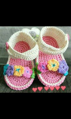 Lana, Baby Shoes, Clothes, Fashion, Crochet Sandals, Tejidos, Outfit, Clothing, Moda