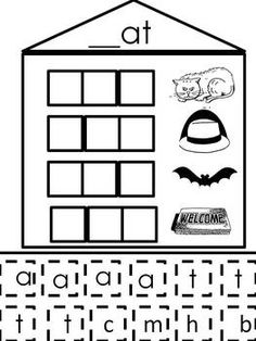 "Short ""a"" Word Families - Word Building Activity - Mrs. Horvath's Kinder - TeachersPayTeachers.com"