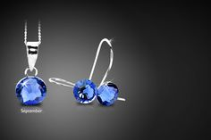 Swarovski Elements Birthstone Jewellery Set