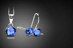 Swarovski Elements Birthstone Jewellery Set