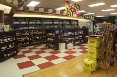Liquor Store Cabinetry