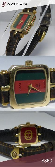 Vintage Retro Gucci Watch Gucci Vintage Retro gold filled watch with original band. Fits size 6 1/2 wrist. No scratches on crystal. Band showing some age, but in good shape. Gucci Accessories Watches