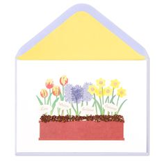 Flower Bed Card Price $6.95
