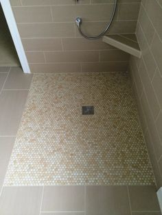 One level waterproof showers save space in small bathrooms | Innovate Building Solutions