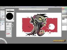 SketchBook Zombies by CreatureBox - YouTube
