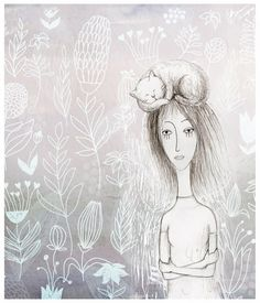 Russian Illustratior Elena Lishanskaya ~ Blog of an Art Admirer