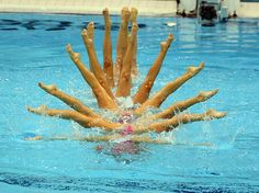 Team Canada went all out in the synchronized swimming team finals, but couldn't quite get a toe hold on the medals, taking fourth behind Russia, China and Spain. #london2012