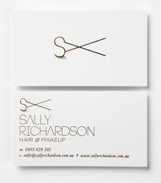 Sally Richardon visual Identity by Studio Equator  http://www.studioequator.com.au/projects/sally-richardson-hair-makeup/?refilter=true=sally+richardson