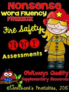Here's a sample of my In-School/At-Home NWF Assessments that I have in my store;)Enjoy and have a great October!Michelle Lenahan of Lendahand's Printables:)