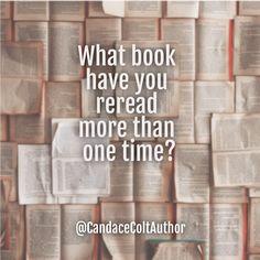 #readmeagain #favoritebooks #readoverandover #CandaceColtAuthor