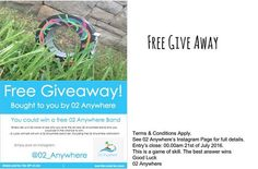 Free Giveaway! Read information below to find out more.