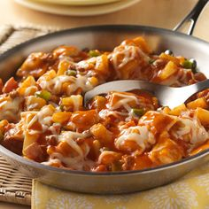 Hawaiian Ravioli Skillet - Chef Boyardee Recipes