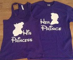 Free/Fast Shipping for US Ariel & Eric The Little Mermaid Prince and Princess couples set.Purple(white decal)