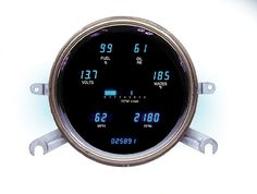 DAKOTA DIGITAL DASH '49 50 CHEVY GAUGE CLUSTER VFD3-49C - Phoenix Tuning