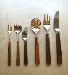Bertel Gardberg - rosewood cutlery for Hackman, Finland