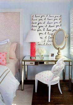 i love you art for tween room walls
