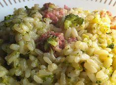 Una fata in cucina > Risotto salsiccia e broccoli