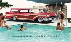 1959 Mercury Colony Park Country Cruiser Station Wagon