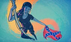 """6 Strategies to Make Powerful Social Change—Starting With """"Stay Woke"""". Bree Newsome's removal of the Confederate flag from the South Carolina Statehouse reminds us that real change comes from people power."""