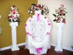 chair decoration ideas on pinterest baby shower chair wicker chairs