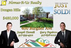 Just Sold! - 400 Burgher Ave