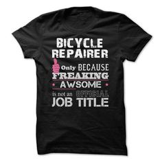 Awesome Bicycle Repairer T Shirts, Hoodie. Shopping Online Now ==►…