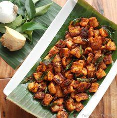 Kerala Squid (Kanava) Fry