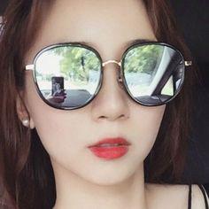 Super stylish shades square sunglasses mirrored lenses