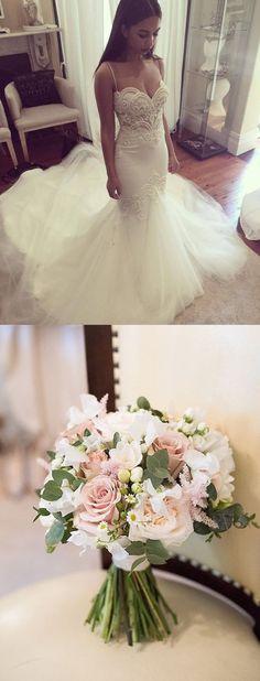 mermaid wedidng dresses, gorgeous wedding gowns, fashion, wedding fashion.