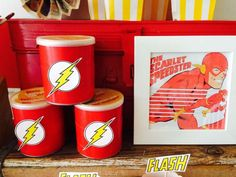 The Flash/Superhero Birthday Party Ideas   Photo 1 of 14   Catch My Party - Visit now to grab yourself a super hero shirt today at 40% off!