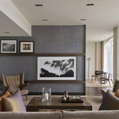 20 ideas living room tv wall decor hidden tv for 2019 Living Room Shelves, Living Room Flooring, Living Room Colors, Living Room Paint, Living Room Designs, Living Room White, Living Room Grey, Home Living Room, Living Room Decor