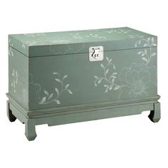 I pinned this Balfour Trunk from the Stein World event at Joss and Main!
