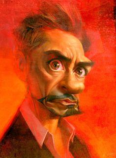 [ Robert Downey Jr. ] - artist: Xi Ding website: http://spinorxi.blogspot.com/