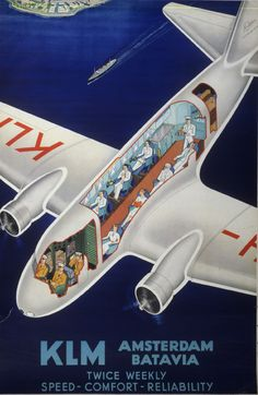 KLM Poster from Smithsonian