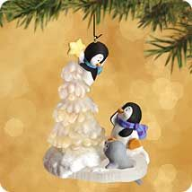 2002 TOPPING THE TREE | Hallmark Ornaments