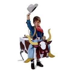 Bull Riding Cowboy Halloween Costume