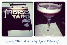 Enjoyed an awesome cocktail this afternoon at Indigo Yard in Edinburgh! Great little bar, and the bar men were really friendly! Defiantly recommend to everyone! #Edinburgh #cocktail