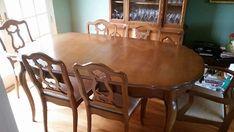 1962 63 bassett versailles dining room set antique appraisal rh in pinterest com Cloverleaf Dining Room Set Antique Dining Room Style Guide
