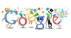 google doogle new year speciall