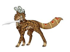 Twinkle0122aj art animal jam art | Old Frozenspirit the Warrior