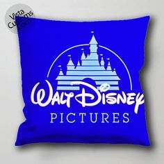 Disney logo pillow case, cushion cover ( 1 or 2 Side Print With Size 16, 18, 20, 26, 30, 36 inch )