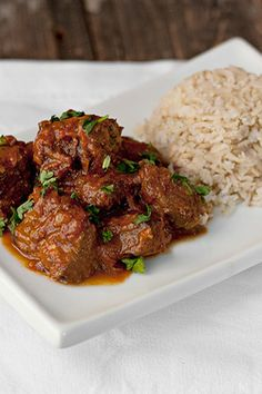 Warm Spiced Beef Curry