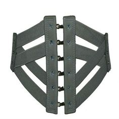 Very Wide Belt With Corset Fastenings from The Latest Thing - Wide belts for women - Ladies Belts, Wide Belts For Women, Corset Belt, Fashion Belts, Waist Cincher, Knitting Ideas, Suspenders, My Style