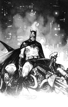 Batman by Olivier Coipel The Origin of Bruce Wayne by Tom King and Travis Moore Tops Advance Reorders Batman Artwork, Batman Comic Art, Im Batman, Batman Robin, Superman, Batman Arkham, Batman Bike, Comic Book Artists, Comic Artist
